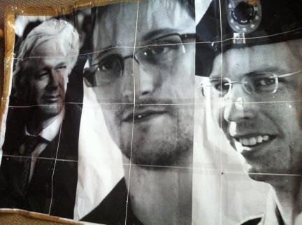 Assange, Snowden, Manning