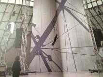 """L'installation de """"Dreams have a langage"""""""
