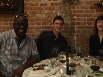 A Los Angeles, avec Alain Mabanckou et Erin Cooney