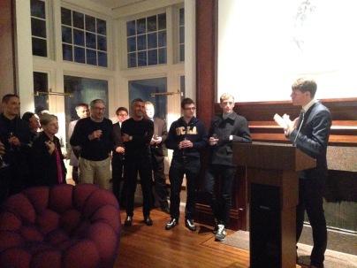 Au consulat de France à San Francisco, avec Emmanuel Lebrun-Damiens, Sergio Coronado....