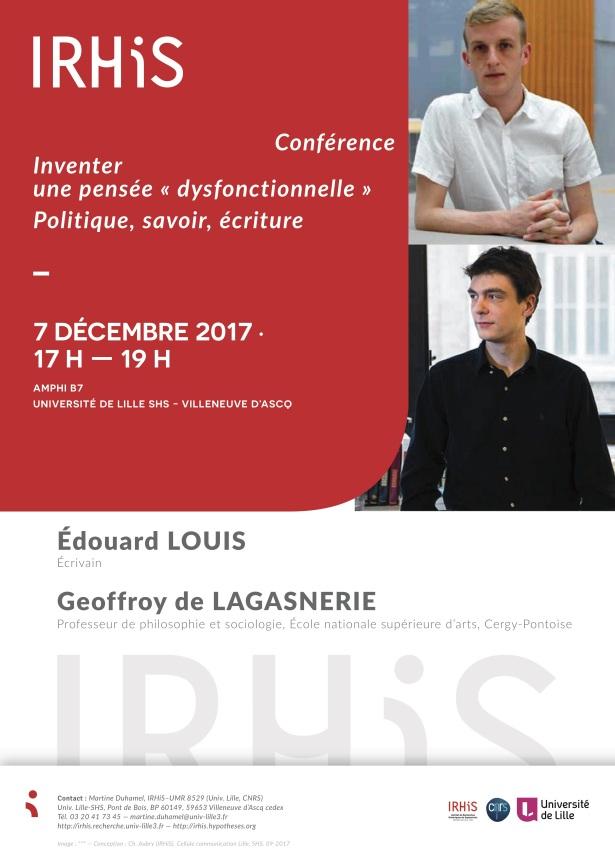 Conférence_Inventer une pensée dysfonctionnelle_7 décembre 2017